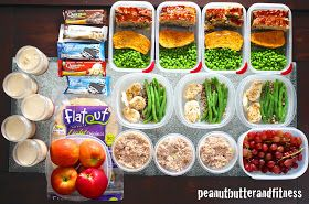 PEANUT BUTTER AND FITNESS: Meal Prep (from last week!)