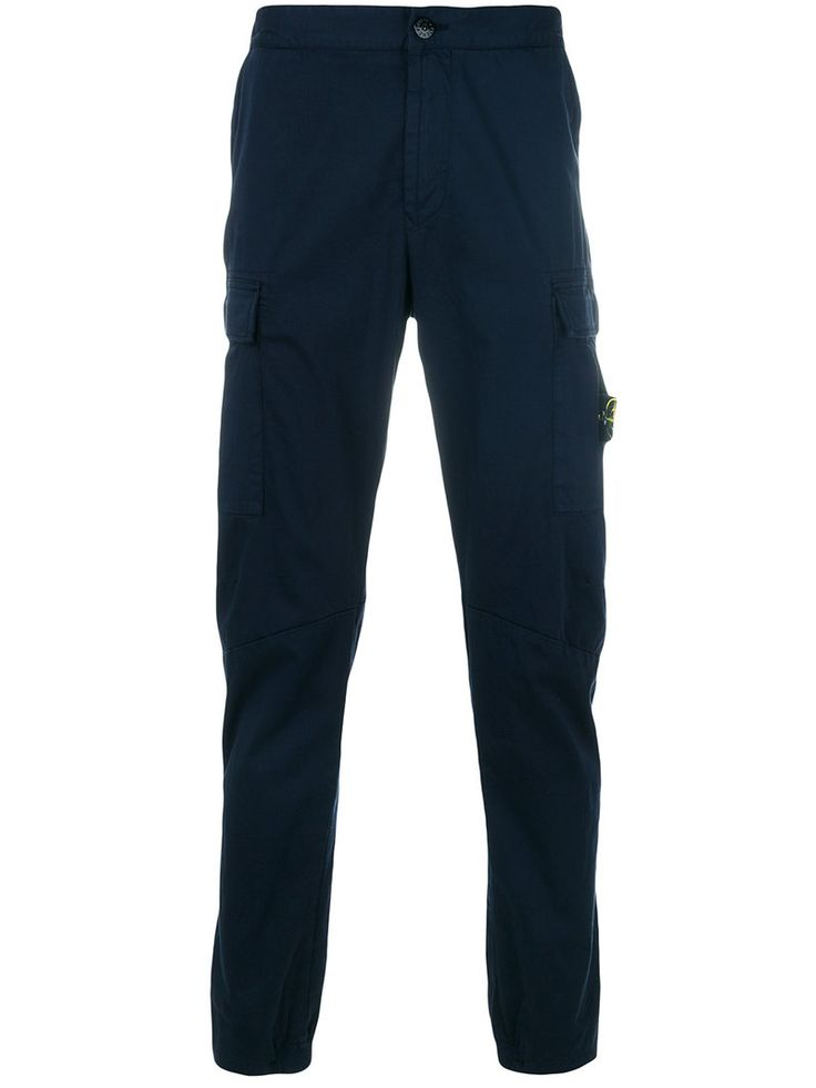 STONE ISLAND STONE ISLAND - FITTED CHINO TROUSERS . #stoneisland #cloth #