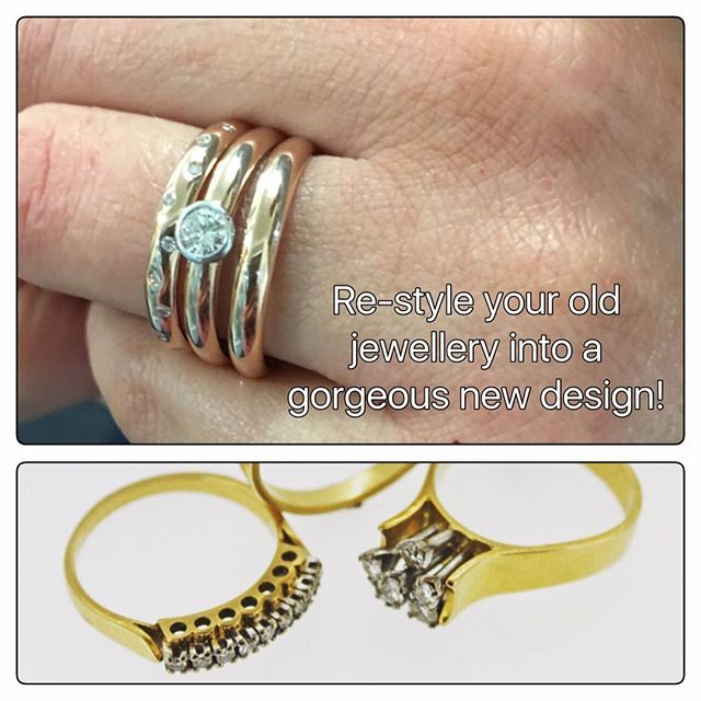 Would you love to re-design your old rings and jewellery 😳 ? Our design team are on file 💥🌪💎🌋 #portfairypics #jewelleryconsultant #portfairyjeweller #portfairyfashion #leskesdiamondssparklemore #leskesmelbourne #redesign #oldjewellery #sellyourgold #oldjewellerymadenew #winterweekends