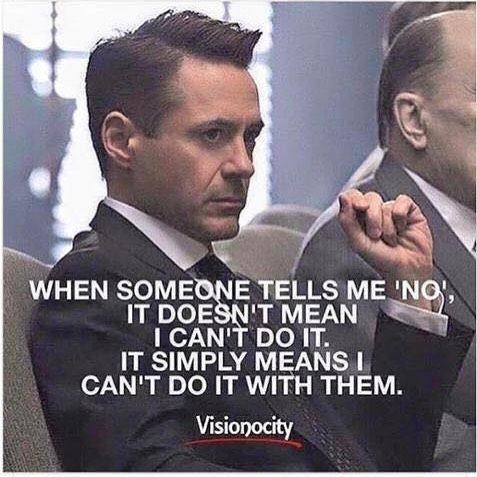BAM...LOVE THIS! So true...NOBODY gets to tell me what I can't do but everyone can show me what they can't do...by what they say! #success #motivation #quotes #driven #freedomofchoice #a3dlife