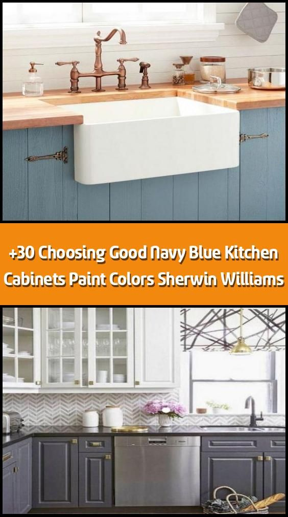 Best 30 Choosing Good Navy Blue Kitchen Cabinets Paint Colors 400 x 300