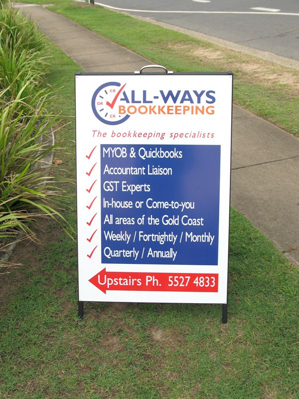 All-ways bookkeeping - #Standard #Signage