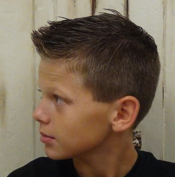 Picture of Cool hairstyles for little boys 2015