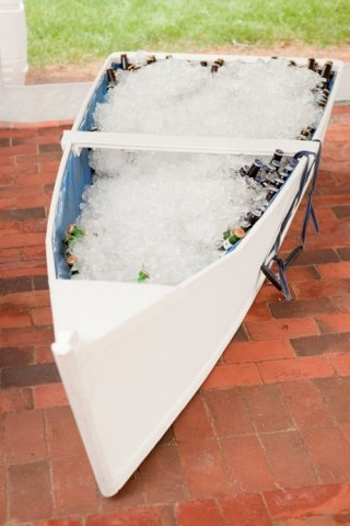 Awesome idea for holding beers at a nautical wedding ~ http://VIPsAccess.com/luxury-hotels-caribbean.html