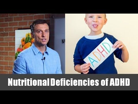 Nutritional Deficiencies that Cause ADHD - YouTube