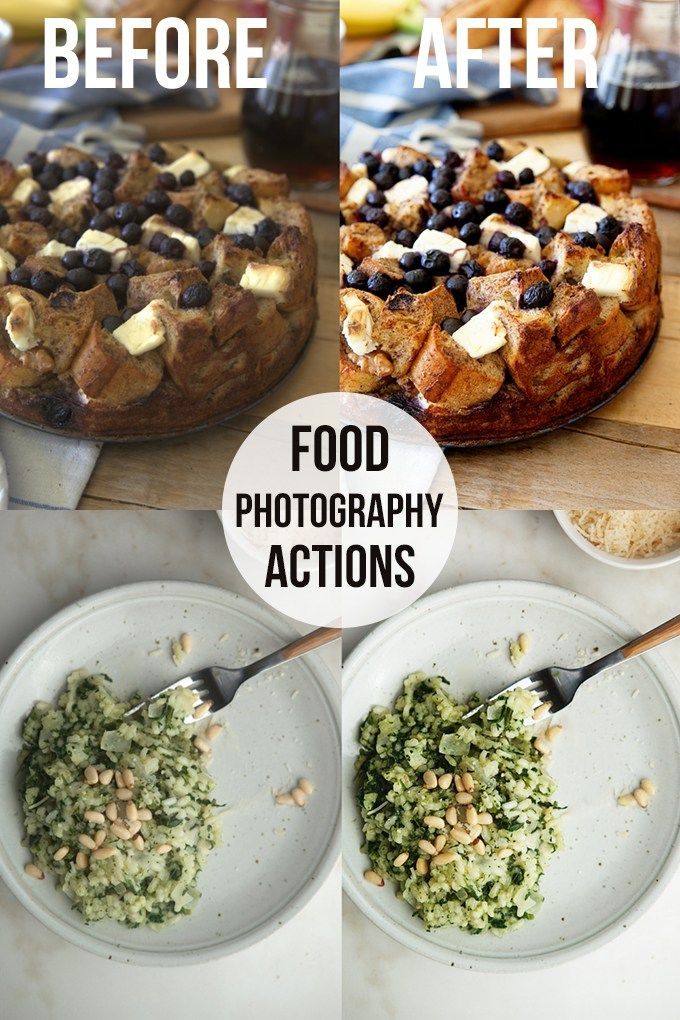 Best Actions for Food Photography: These actions and presets easily take your food photography (