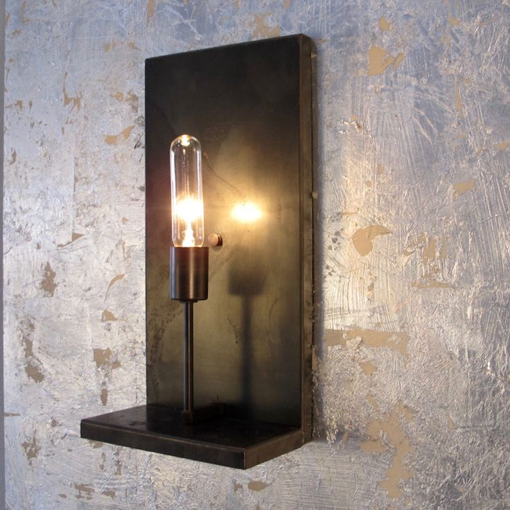 Industrial Wall Sconce -