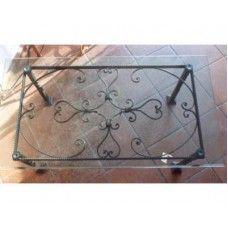 Tavolo Tavolino in FERRO BATTUTO . Realizzazioni Personalizzate . 680