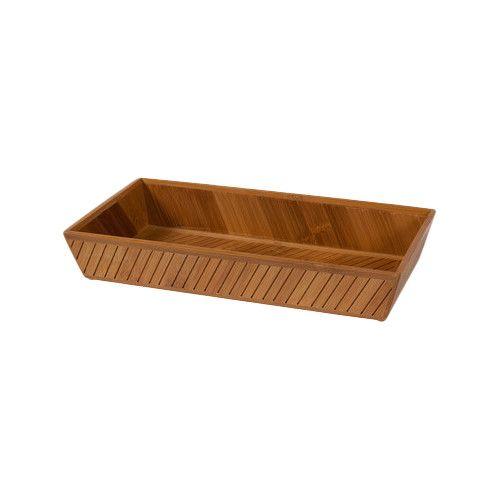 Found it at AllModern - Bamboo Bathroom Accessory Tray