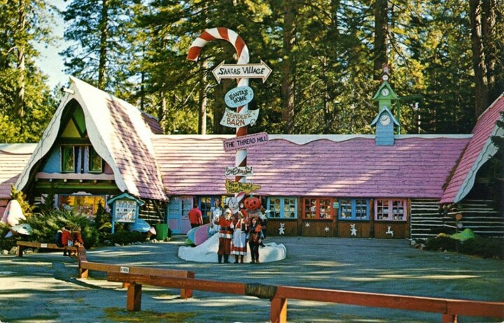 Santa's Village in Scotts Valley,CA-Santa Cruz county - one of those vanishing local attractions. In this case, Santa's Village Scotts Valley closed it's doors in '78.