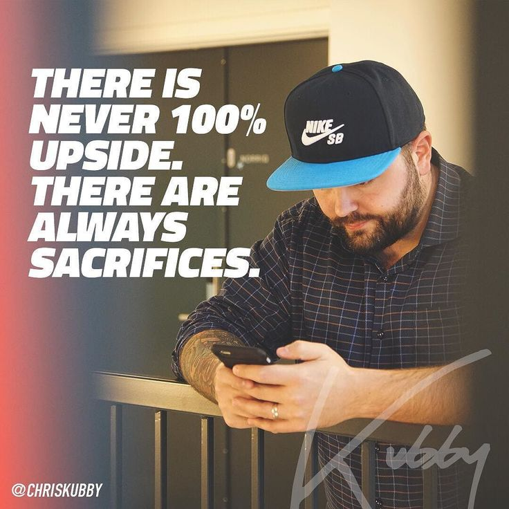They are always sacrifices. Once you know this then you won't beat yourself up about making those sacrifices. Unless you're totally screwing up something then you have to shift priorities. Until then live with the sacrifices. Own them like a boss. #ownit