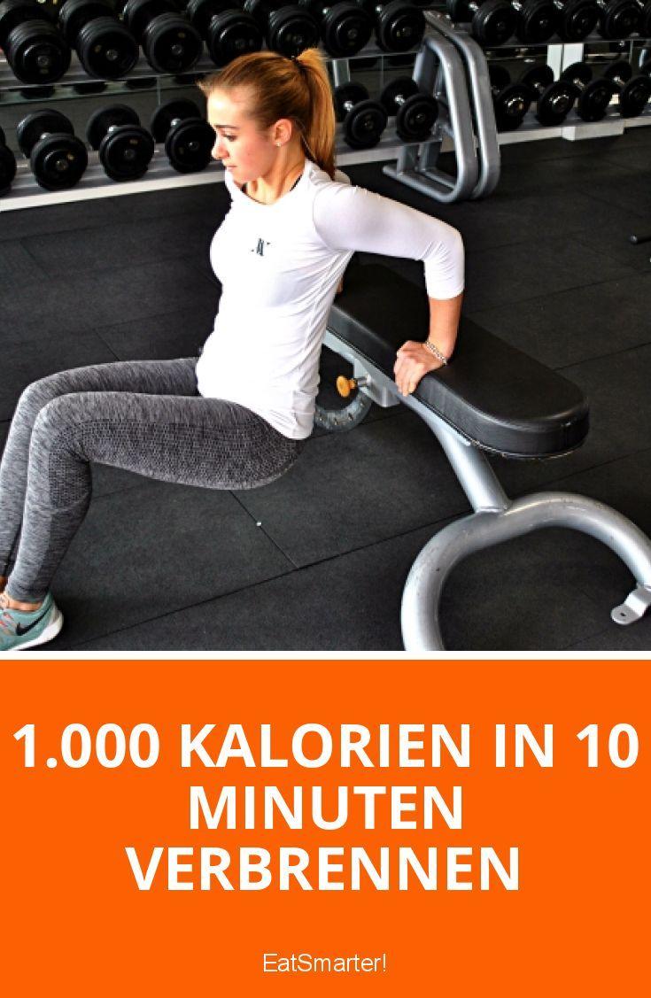 Dieses neue Workout scheint die Lösung zu sein: 1.000 Kalorien in 10 Minuten verbrennen – Wunderworkout oder Wunschvorstellung?