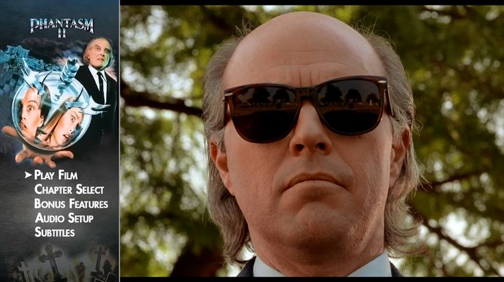 PHANTASM----REGGIE BANNISTER: he starts out a nerdy ice cream truck driver. After the deaths of close friends lead to a creepy mortuary, REGGIE goes Dirty Harry on their asses.
