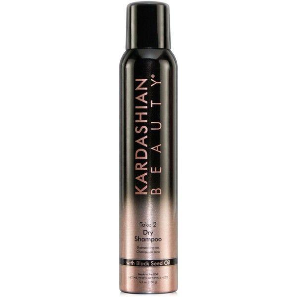 Kardashian Beauty Take 2 Dry Shampoo ($15) ❤ liked on Polyvore featuring beauty products, haircare, hair shampoo, hair, no color, black hair shampoo, dry shampoo, waterless shampoo, black hair care and powder shampoo