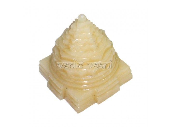 Shree Yantra in Ivory Gemstone buy online from India