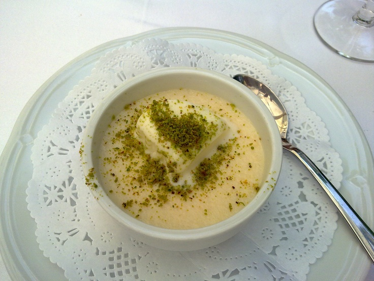 Ottoman Cuisine Ice Cream with Keskul Turkish Dessert