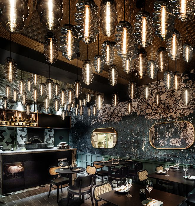 restaurant bar lighting. francs was the cash prize offered by napoleon bonaparte for creation of a durable food preservation method his army in designed emma maxwell restaurant bar lighting