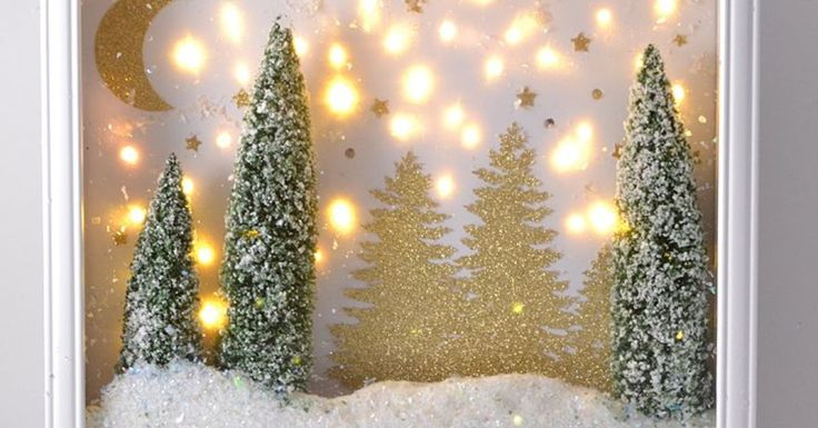 Winter Twinkle Display Tutorial - I've gotten a bit homesick missing Oklahoma after moving to South Texas. It didn't seem like not having proper seasons would b...