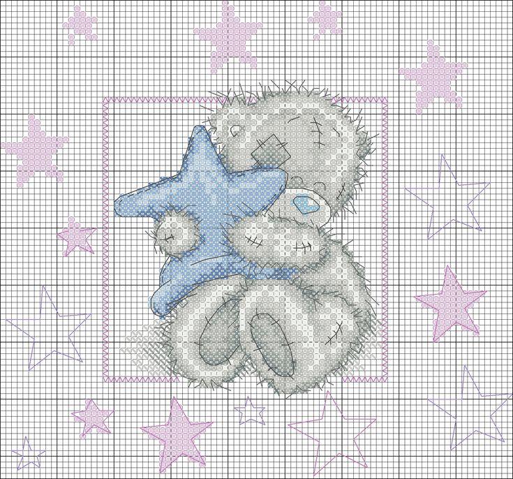 Мишка Teddi со звездой