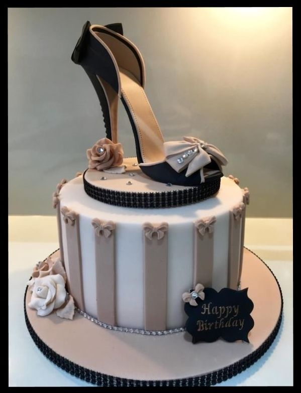 Happy Birthday Cake With Sexy Heel Happy Birthday