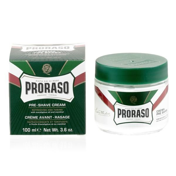 Suitable for use either before or after shaving, Proraso New Formula Pre-Post Shave Cream both protects the skin and relieves shaving symptoms. True to Proraso'
