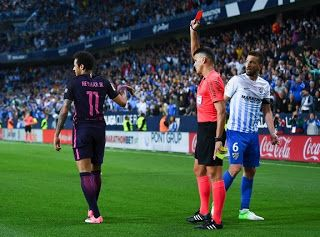 Blog Esportivo do Suíço:  Neymar é suspenso por três jogos e desfalca Barça no clássico contra Real Madrid