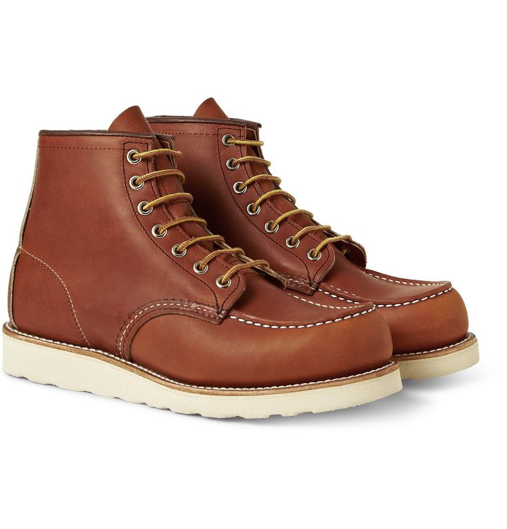 Red Wing Shoes - 875 Moc Leather Boots