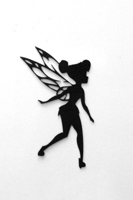 Tinkerbell Metal Sign by RillaBee on Etsy, $30.00
