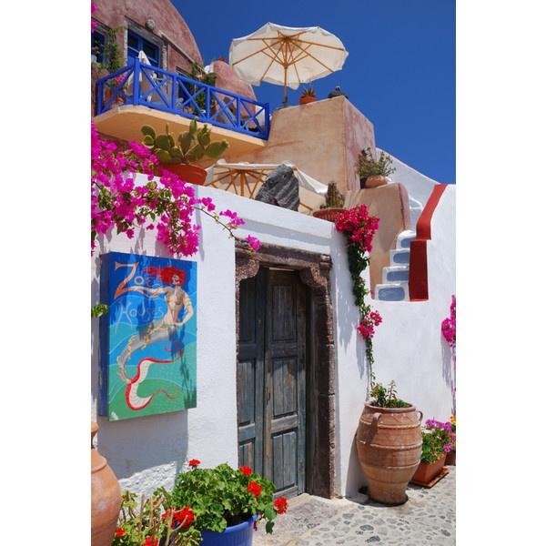 Греция, Санторини, Ия ❤ liked on Polyvore