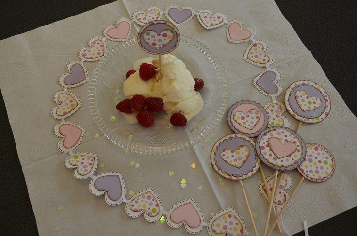 Nytt inlägg Kalas dekorationer / Babyshower Check more at http://kristinasscrapbookingblogg.se/kalas-dekorationer-babyshower/