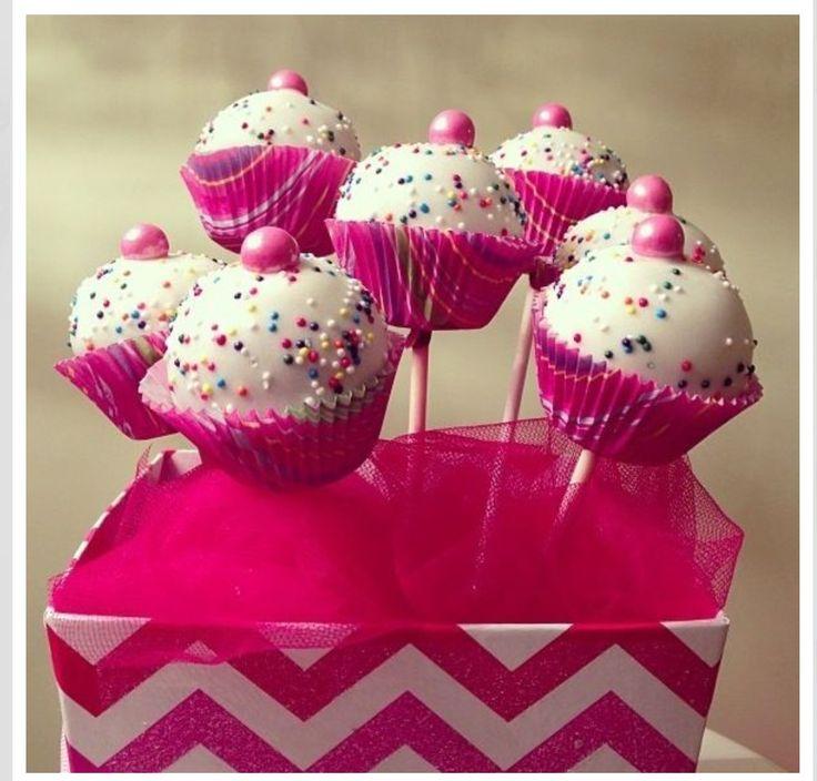 Cupcake cakepops