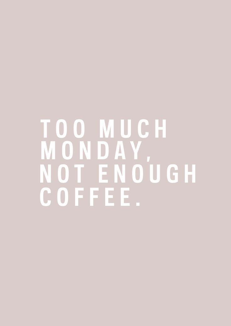 Too much Monday, not enough coffee. Come and see our new website at bakedcomfortfood.com!