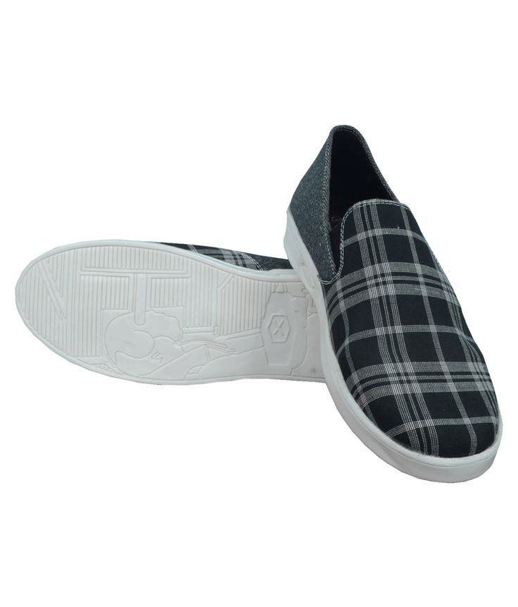 Grass Black Loafers