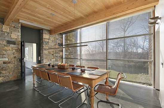 Richard Meier-designed Orchard Hill modernist property in Mount Kisco, New York, USA