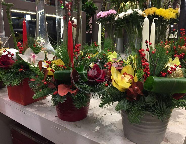 #lesfleuristes #ανθοπωλειο #γλυφαδα #ανθοσυνθεση #χριστουγεννα #καλεςγιορτες #δωρο