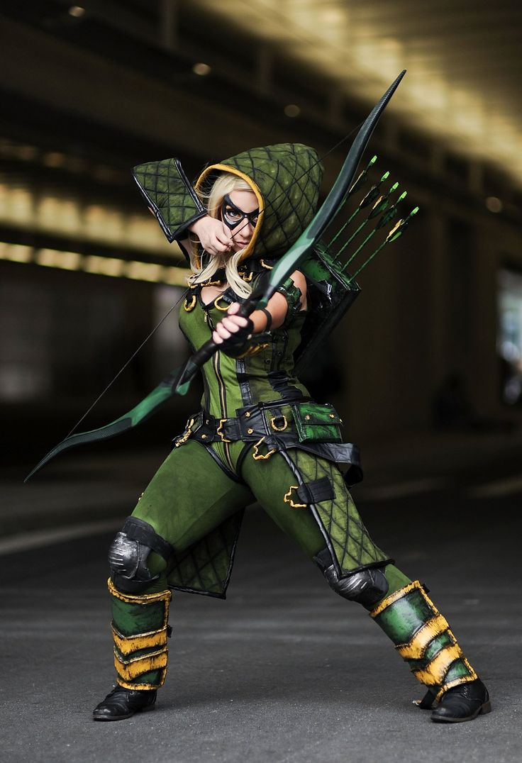 Photos Of The Best Cosplay From New York Comic Con 2014 - Who said Arrow had to be a guy?