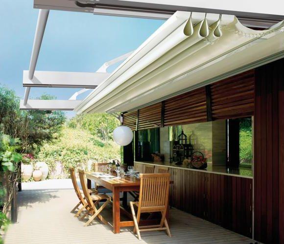 17 best spa pergola ideas images on pinterest backyard - Tenda da tetto oasis ...