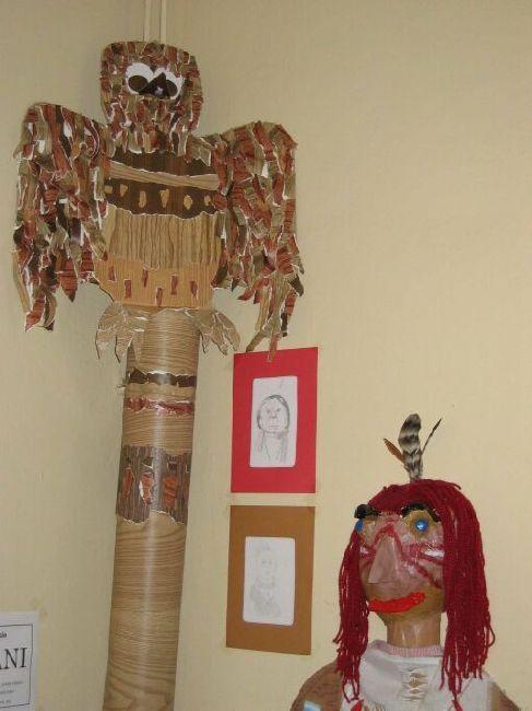 2004/2005, 6. ročník, indiánský totem