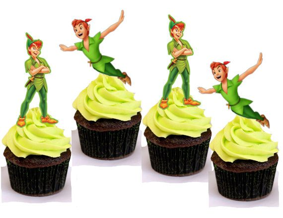 Peter Pan Inspired Cupcake Topper Or Cake Pop By