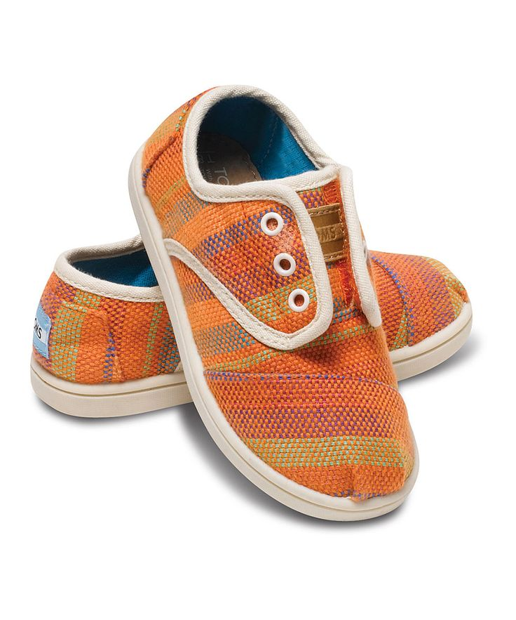 Orange Tropic Cordones - Tiny   Daily deals for moms, babies and kids