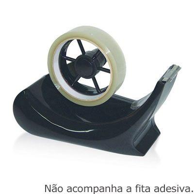 Suporte p/fita adesiva gde preto sf2000 Gramp-line - Embalagens - Kalunga.com