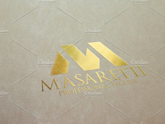 M Letter by eSSeGraphic on @creativemarket