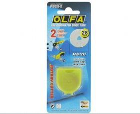 Lama pentru cutter Olfa RB 28 RTY - 1G - Materiale textile online