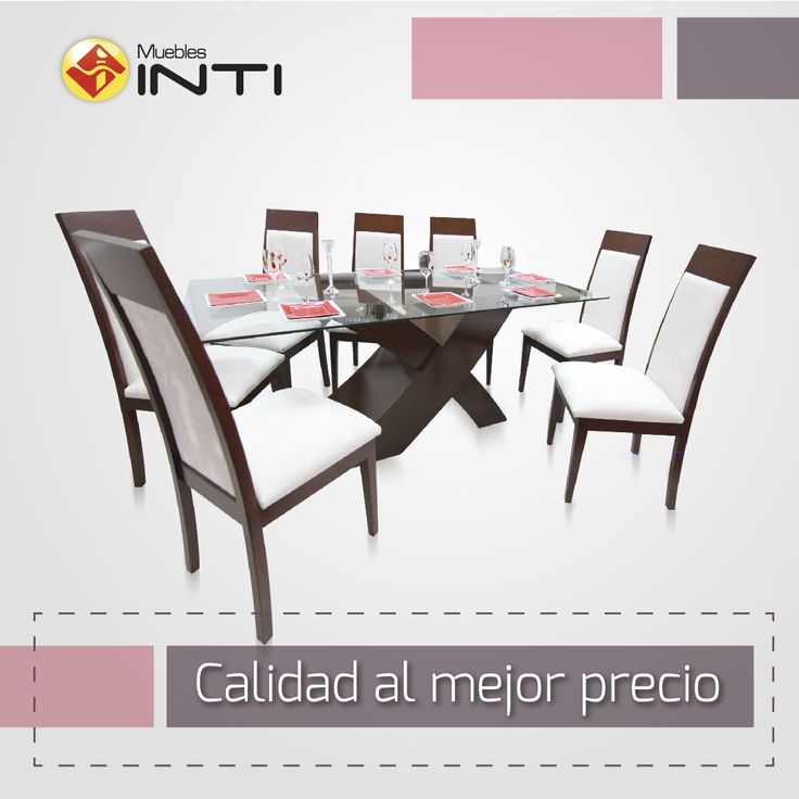 22 best images about mesas comedor vidrio on pinterest for Comedor vidrio 6 sillas