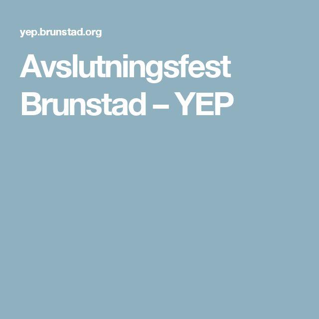 Avslutningsfest Brunstad – YEP