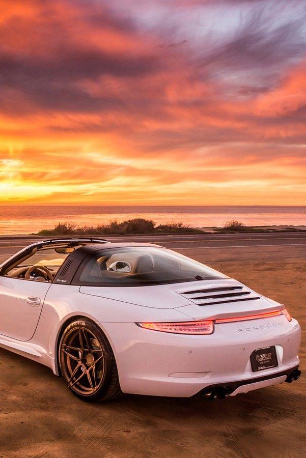Porsche 911 Targa. Lease through Premier Financial Services.