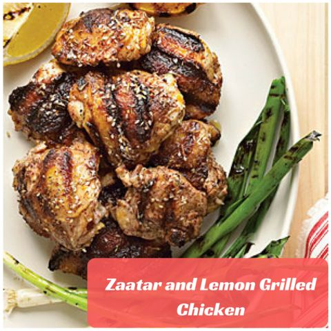 This Zaatar and Lemon Grilled Chicken is perfect to satisfy your cravings. Every bite will remind you of the Mediterranean goodness that you just can't get enough of!