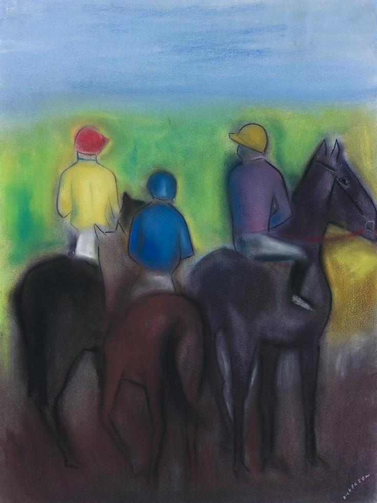 Robert Dickerson ~ The Mounting Yard