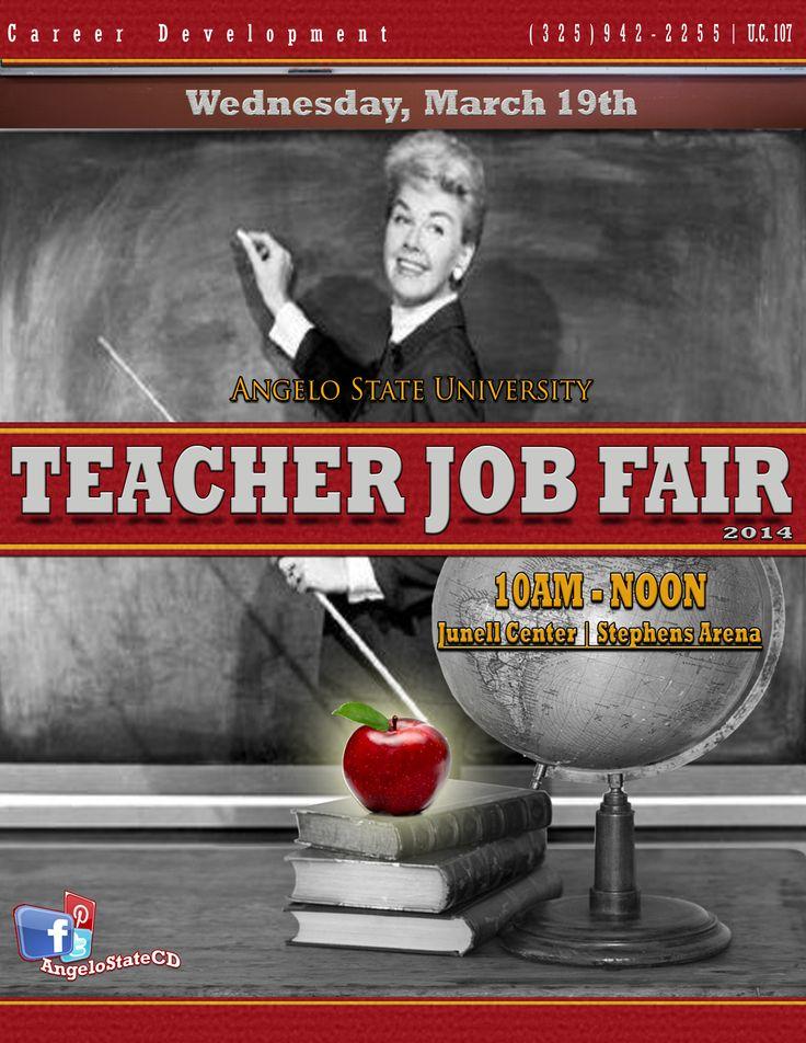 Teacher Job Fair Angelo State University Career
