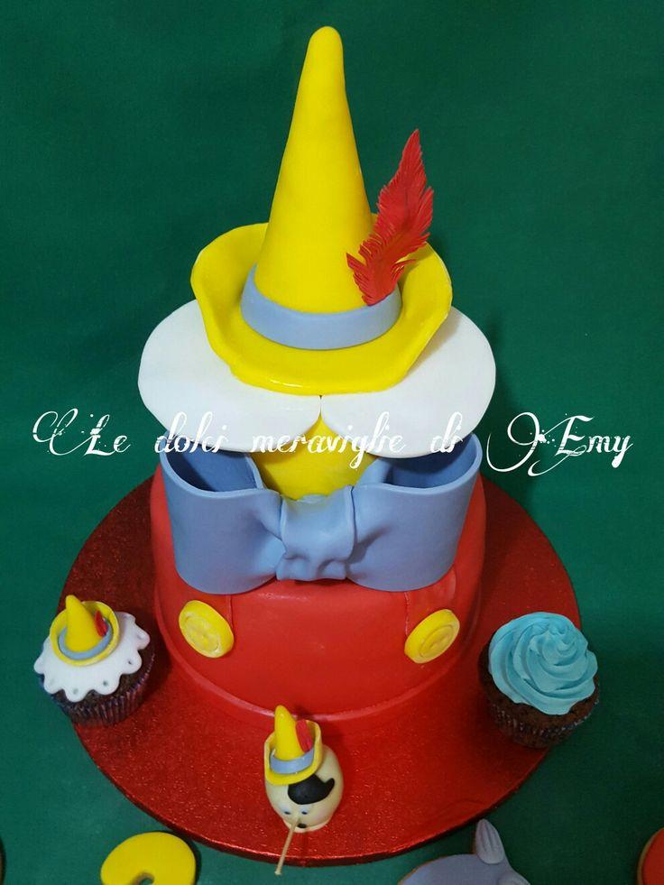 Pinocchio cake, cupcake, cakepops e cookies for pinocchio party